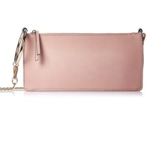 Nine West Silana Small Chain Modern Clutch Pink